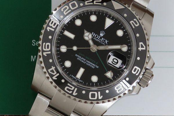 ブラック×グリーン Ref.116710LN